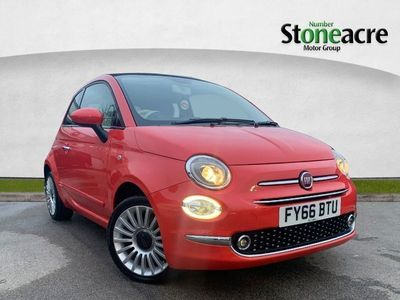 used Fiat 500 1.2 Lounge 2Dr