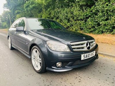 used Mercedes C350 C Class 3.0CDI BlueEFFICIENCY Sport Saloon 4dr Diesel Automatic (174 g/km, 231 bhp)
