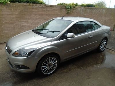 used Ford Focus Cabriolet CC2 LOW MILES 81K FULL HISTORY