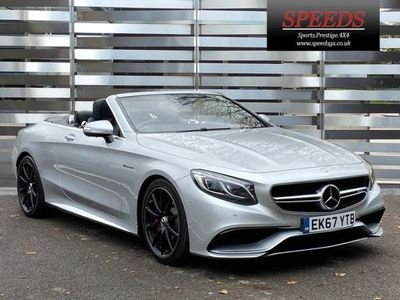 used Mercedes S63 AMG AMG S Class V8 AMG Cabriolet SpdS MCT (s/s) 2dr 5.5