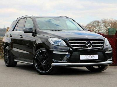 used Mercedes ML63 AMG M Class 5.5AMG Speedshift Plus 7G-Tronic 4MATIC 5dr