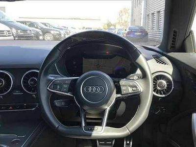 used Audi TTS Coupé Coup- Black Edition 2.0 TFSI quattro 310 PS S tronic