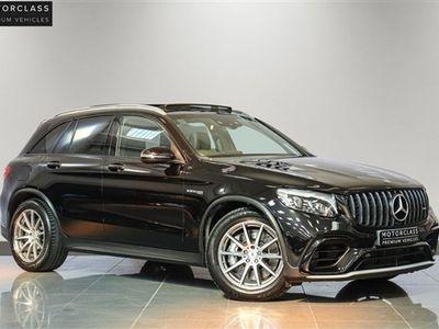 used Mercedes GLC63 AMG GLC 4.0 AMG4MATIC PREMIUM 5d 470 BHP