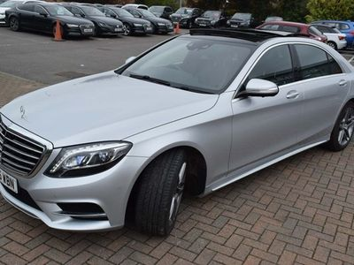 used Mercedes S350 S-Class SaloonL AMG Line (Executive) 4d Auto