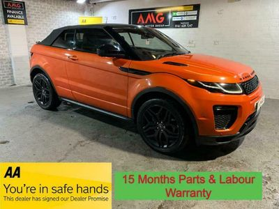 used Land Rover Range Rover evoque 2.0 TD4 HSE Dynamic Lux Auto 4WD (s/s) 3-Door