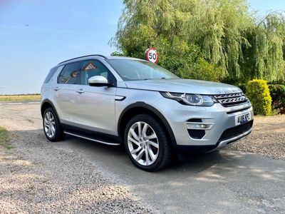 used Land Rover Discovery Sport TD4 180 Auto Start-Stop HSE Luxury