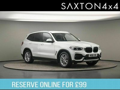 used BMW X3 2.0 20d SE Auto xDrive (s/s) 5dr