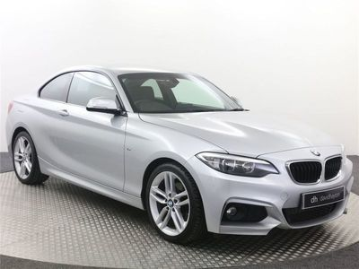 used BMW 220 2 Series D M Sport 2Dr