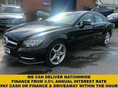 used Mercedes CLS250 CLS-Class 2.1TDSport AMG 2.1CDI Blue F Saloon 4d 7G-Tronic