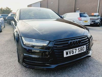used Audi A7 Sportback 3.0 TDI V6 Black Edition S Tronic quattro (s/s) 5dr
