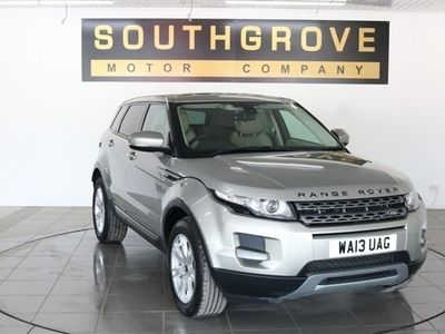 used Land Rover Range Rover evoque 2.2 ED4 PURE 5d 150 BHP
