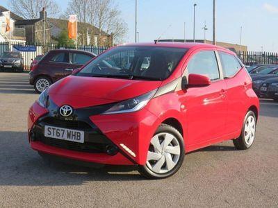used Toyota Aygo 1.0 VVT-I X-PLAY 5d 69 BHP +FINANCE IN 30 MIN+£0 DEPOSIT+