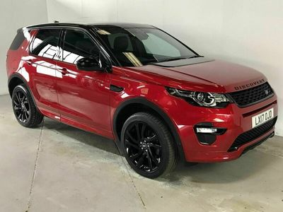 used Land Rover Discovery Sport 2.0 TD4 HSE Dynamic Lux Auto 4WD (s/s) 5dr