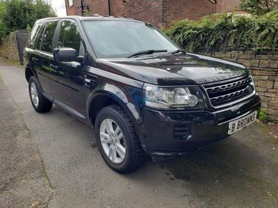 used Land Rover Freelander 2.2 ED4 BLACK AND WHITE 5d 150 BHP