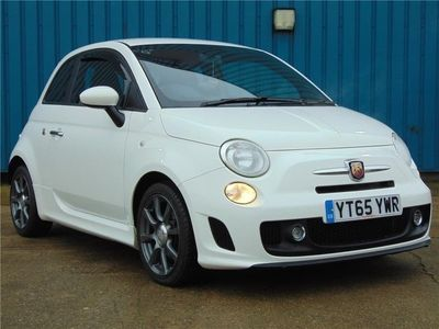 used Abarth 595 1.4 T-Jet (140ps) with Factory Fitted MONZA Exhaust - What An Incredible 3-Door