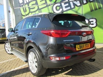 used Kia Sportage Estate 2.0 CRDi First Edition (AWD) 5d Auto