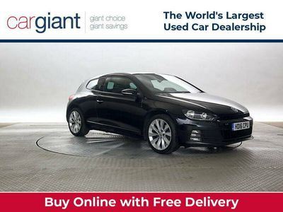 used VW Scirocco 2.0 TSi 180 GT