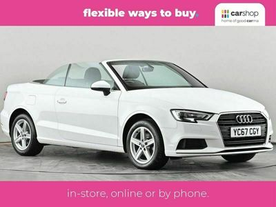 used Audi A3 Cabriolet 1.5 TFSI SE 2dr S Tronic Bluetooth