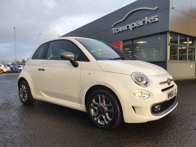 used Fiat 500S PRIVACY GLASS PARKING SENSORS CRUISE CONTROL U C 1.3 3dr