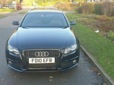 used Audi A4 Avant 2.0 TDI S line Special Edition 5dr
