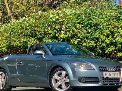used Audi TT PETROL MANUAL CONVERTIBLE 2 DOORS