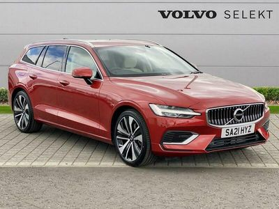 used Volvo V60 SPORTSWAGON 2.0 T6 Recharge PHEV Inscription 5dr AWD Auto