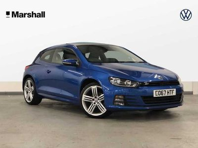 used VW Scirocco 2.0 TDI R-Line 150PS 3Dr Coupe *Sat Nav+Leather+Panoramic Roof+Parking Sensors+Folding Mirrors+Car Net*