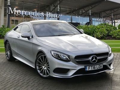 used Mercedes S500 S ClassCoupe AMG Line 4.7 2dr