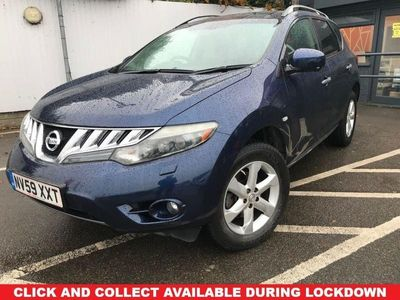 used Nissan Murano 3.5 V6 5d 252 BHP FREE 82 POINT RAC INSPECTION !!