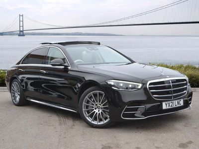 used Mercedes S350 S ClassL AMG Line Premium 4dr 9G-Tronic Saloon 2021