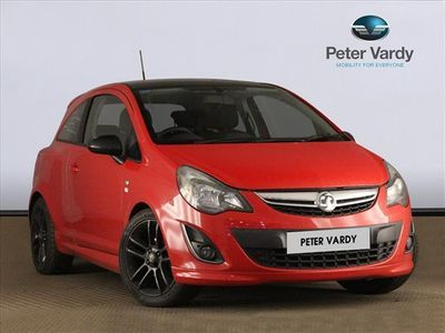 used Vauxhall Corsa Petrol 1.2 Limited Edition 3dr