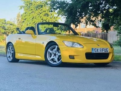 used Honda S 2000 2002 JDM YELLOW