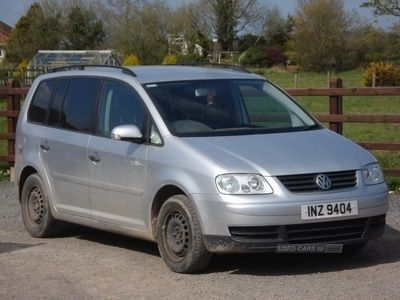 used VW Touran 1.9 TDI S 5dr (7 Seats)