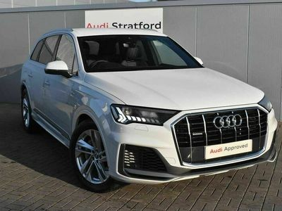 used Audi Q7 S line 55 TFSI e quattro 381 PS tiptronic 5-Door