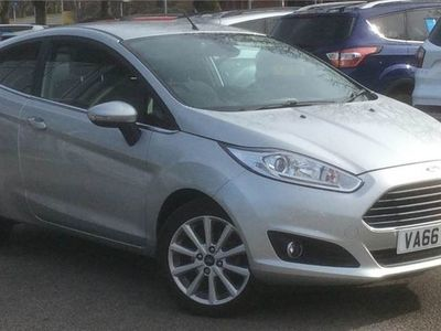 used Ford Fiesta 1.6 Titanium 3Dr Powershift