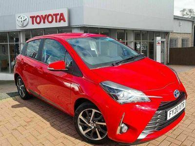 used Toyota Yaris Hatchback 1.5 Hybrid Y20 5dr CVT [Bi-tone]