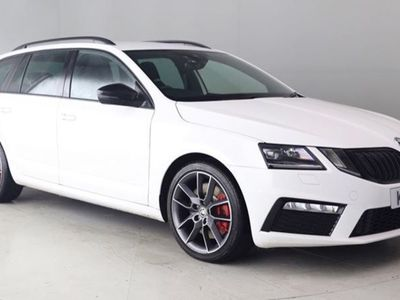 used Skoda Octavia ESTATE 2.0 TSI (245 BHP) VRS