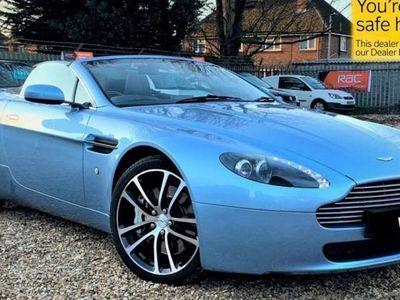 used Aston Martin Vantage PETROL MANUAL CONVERTIBLE 2 DOORS