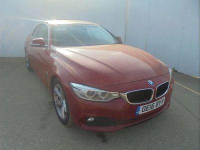 used BMW 420 4 SERIES d [190] SE 2dr [Business Media] Red Manual Diesel