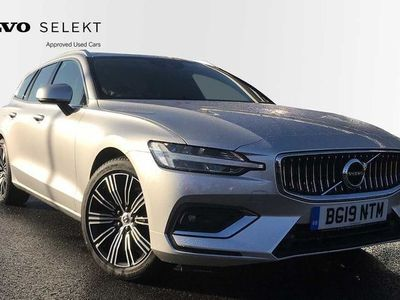 used Volvo V60 D3 Inscription Automatic (Lane Keeping Aid, Leather, Power Seats, Power Tailgate, Sat Nav, Bluetooth 2.0 5dr