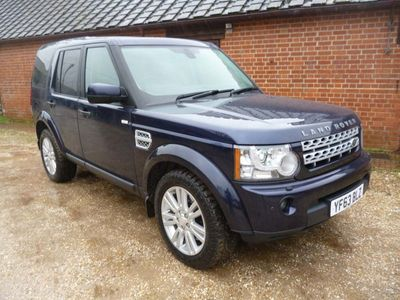 used Land Rover Discovery 4 3.0 SD V6 Panel Van 4X4 5dr Auto, 2013 (63)