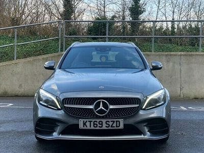 used Mercedes C220 C-Class Estated AMG Line Edition 9G-Tronic Plus auto 5d