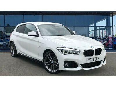 used BMW 118 1 Series i [1.5] M Sport 3dr [Nav/Servotronic] Step Auto Petrol Hatchback