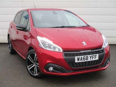 used Peugeot 208 2018 Launceston 1.2 PureTech GPF GT Line (s/s) 5dr