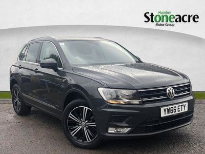 used VW Tiguan 2.0 TDI BlueMotion Tech SE SUV 5dr Diesel 4Motion (s/s) (150 ps)