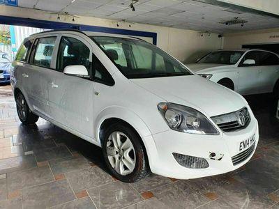 used Vauxhall Zafira 1.8 i VVT 16v Exclusiv 5dr