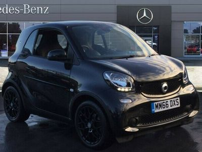 used Smart ForTwo Coupé 1.0 Black Edition 2dr