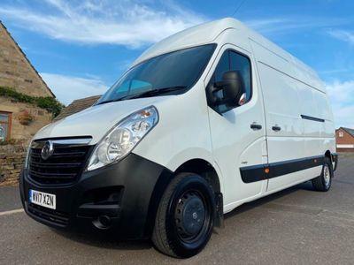 used Vauxhall Movano 2.3 CDTI H3 Van 130ps, 2017, Van, 102000 miles.