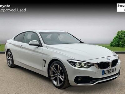 used BMW 420 4 Series d [190] Sport 2dr [Business Media] Coupe 2018