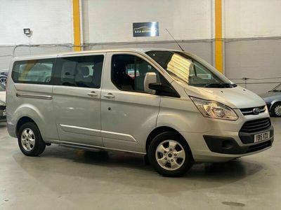 used Ford 300 Tourneo Custom 2.2 TDCiTitanium Low Roof Bus L 5dr (8 Seats, LWB)